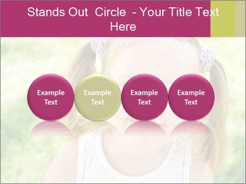 Cute little girl PowerPoint Template - Slide 76
