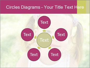 Cute little girl PowerPoint Template - Slide 78