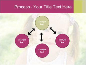 Cute little girl PowerPoint Template - Slide 91