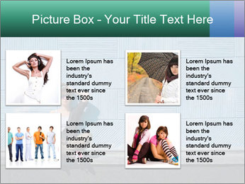 Young girl PowerPoint Template - Slide 14