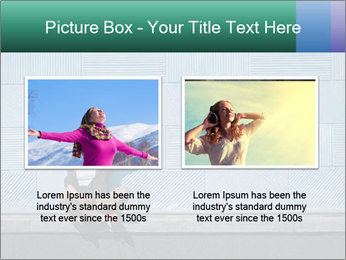 Young girl PowerPoint Template - Slide 18