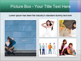 Young girl PowerPoint Template - Slide 19