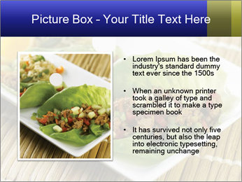 Lettuce wrap PowerPoint Template - Slide 13