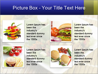 Lettuce wrap PowerPoint Template - Slide 14