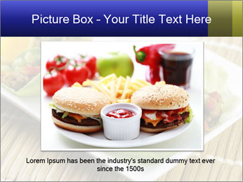 Lettuce wrap PowerPoint Template - Slide 15
