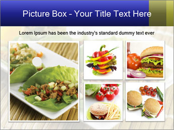 Lettuce wrap PowerPoint Template - Slide 19
