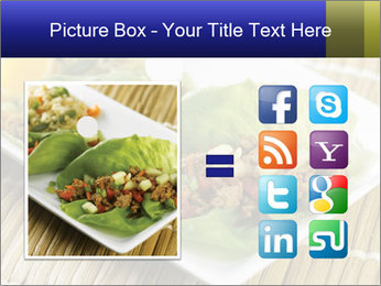 Lettuce wrap PowerPoint Template - Slide 21
