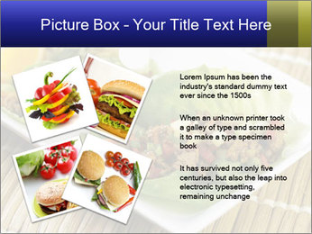 Lettuce wrap PowerPoint Template - Slide 23