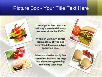 Lettuce wrap PowerPoint Template - Slide 24