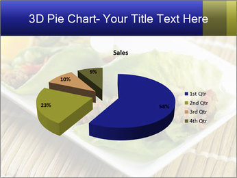 Lettuce wrap PowerPoint Template - Slide 35