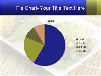 Lettuce wrap PowerPoint Template - Slide 36