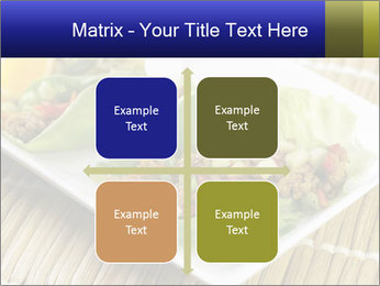 Lettuce wrap PowerPoint Template - Slide 37