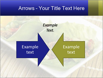 Lettuce wrap PowerPoint Template - Slide 90