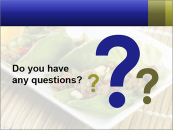 Lettuce wrap PowerPoint Template - Slide 96