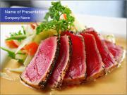 Tuna sushi PowerPoint Template