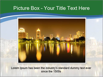 Dambovita river and moon PowerPoint Template - Slide 16