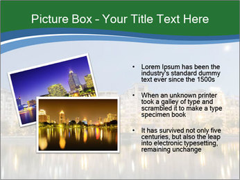 Dambovita river and moon PowerPoint Template - Slide 20