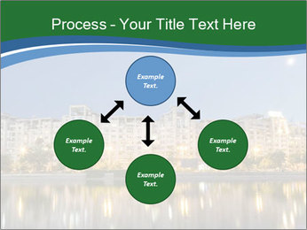 Dambovita river and moon PowerPoint Template - Slide 91