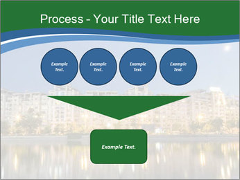 Dambovita river and moon PowerPoint Template - Slide 93