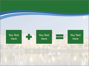 Dambovita river and moon PowerPoint Template - Slide 95
