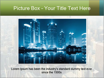 Clouds rolling over Chicago city PowerPoint Template - Slide 15