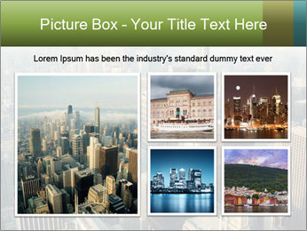 Clouds rolling over Chicago city PowerPoint Template - Slide 19