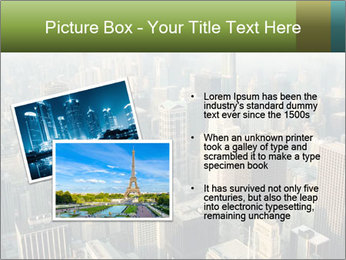 Clouds rolling over Chicago city PowerPoint Template - Slide 20