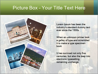 Clouds rolling over Chicago city PowerPoint Template - Slide 23