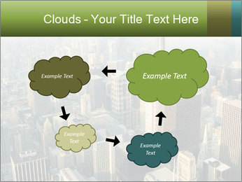 Clouds rolling over Chicago city PowerPoint Template - Slide 72