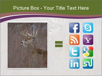 Deer PowerPoint Template - Slide 21