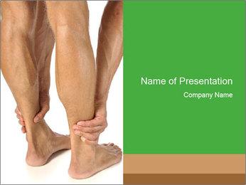 Lean athletic man PowerPoint Template - Slide 1