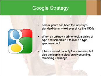 Lean athletic man PowerPoint Template - Slide 10