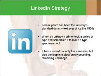 Lean athletic man PowerPoint Template - Slide 12
