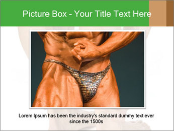 Lean athletic man PowerPoint Template - Slide 15