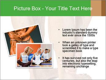 Lean athletic man PowerPoint Template - Slide 20