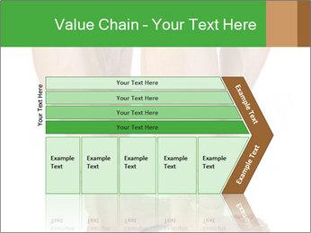 Lean athletic man PowerPoint Template - Slide 27