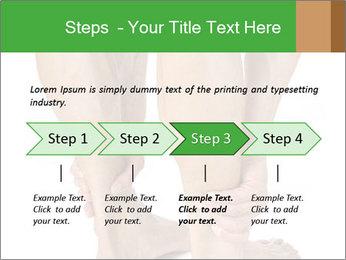 Lean athletic man PowerPoint Template - Slide 4