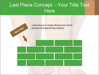 Lean athletic man PowerPoint Template - Slide 46
