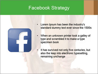 Lean athletic man PowerPoint Template - Slide 6