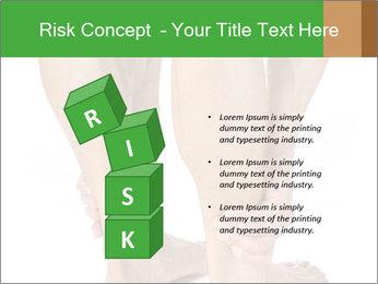 Lean athletic man PowerPoint Template - Slide 81