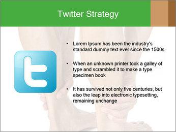 Lean athletic man PowerPoint Template - Slide 9