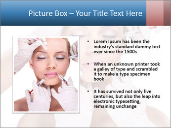 Injection of botox PowerPoint Template - Slide 13
