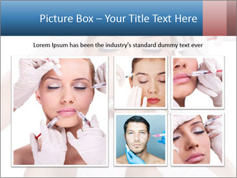 Injection of botox PowerPoint Template - Slide 19