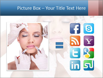 Injection of botox PowerPoint Template - Slide 21