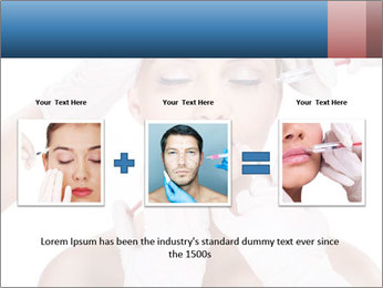 Injection of botox PowerPoint Template - Slide 22