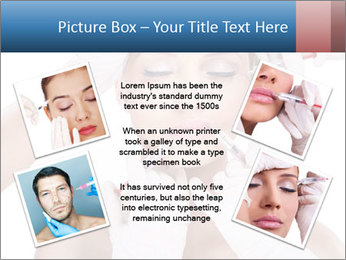 Injection of botox PowerPoint Template - Slide 24