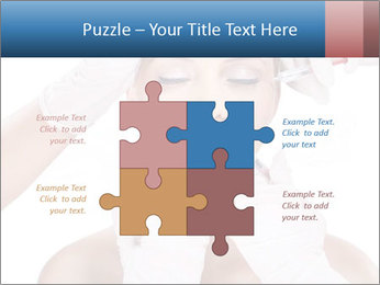 Injection of botox PowerPoint Template - Slide 43