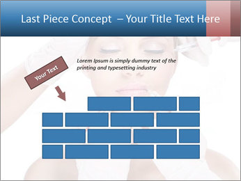 Injection of botox PowerPoint Template - Slide 46