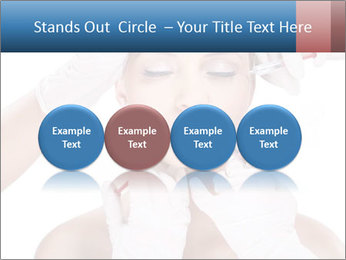 Injection of botox PowerPoint Template - Slide 76