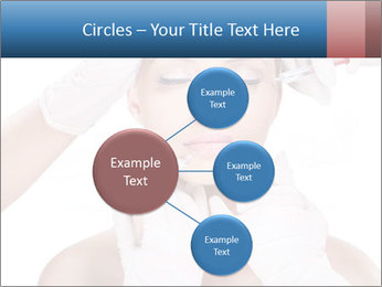 Injection of botox PowerPoint Template - Slide 79